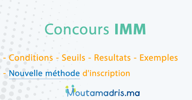 concours IMM